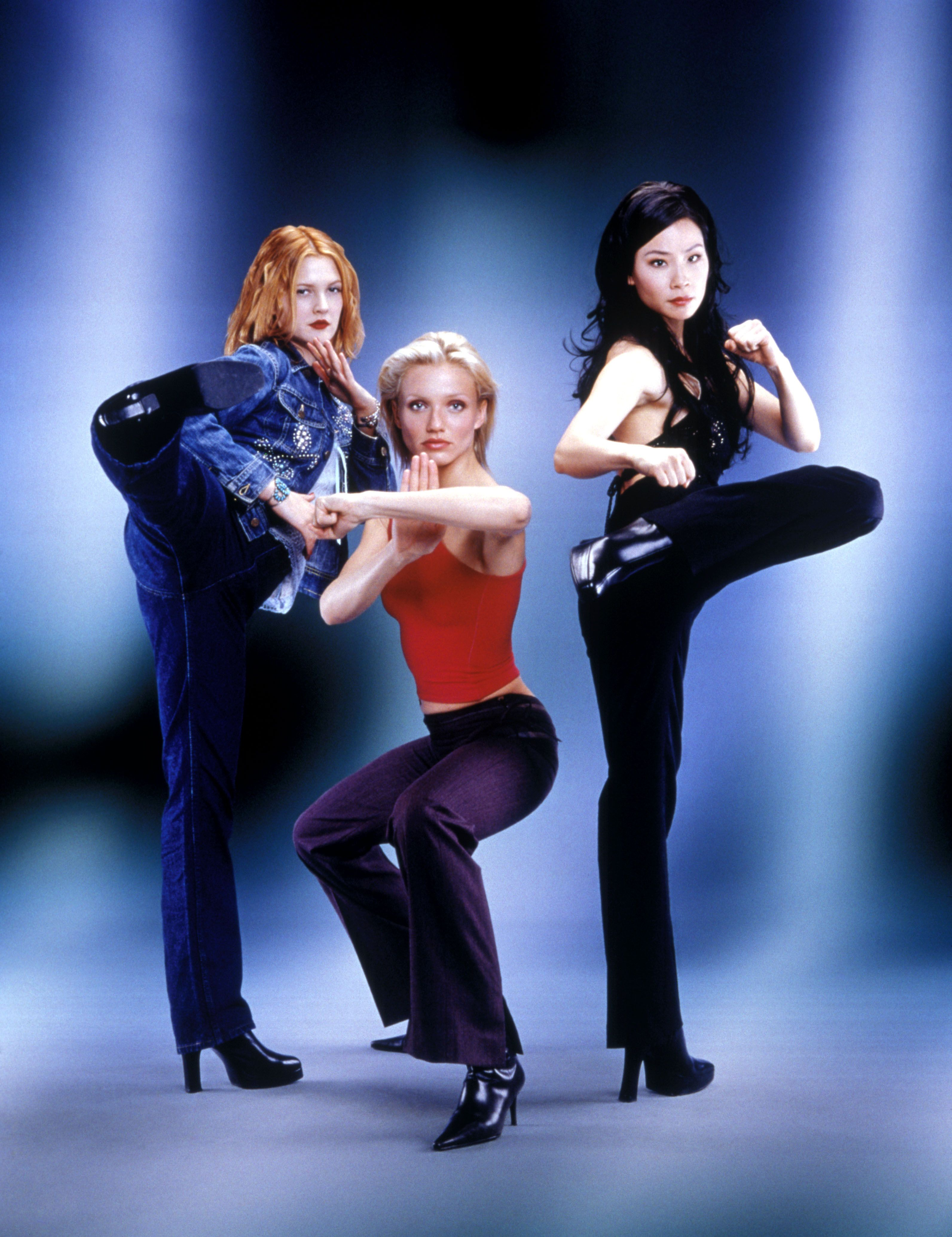 Charlie S Angels 2000 Cameron Diaz Drew Barrymore Lucy Liu Charlies Angels Movie Charlies Angels Costume Charlie S Angels