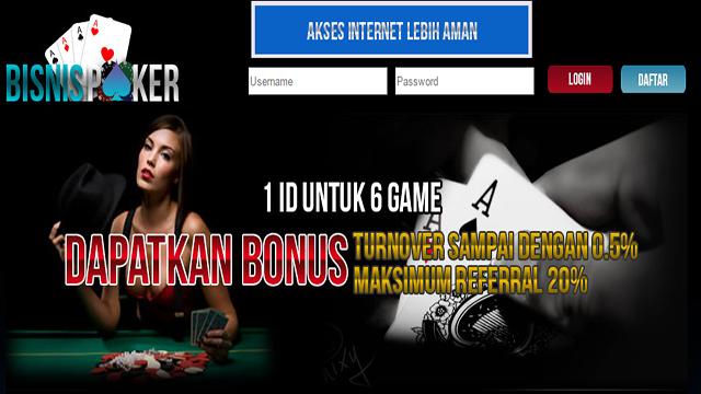 Bisnispoker Agen Poker Bandarq Online Poker,