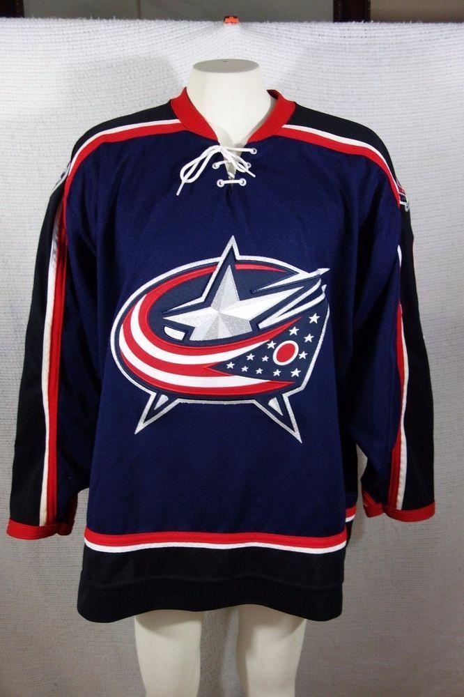 big sale aa0b9 a0076 61 Rick NASH Columbus BLUE JACKETS KOHO Jersey Size Men's XL ...