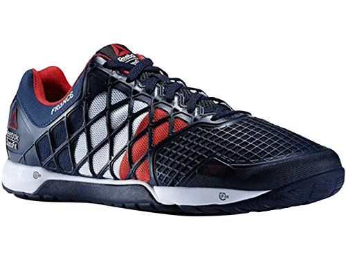 Mens Reebok Crossfit Nano 40 FRA Flagpax Shoes NavyChina RedWhite M48516 13 -- Continue to the product at the image link.