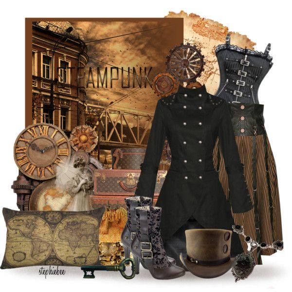 FWF: Steampunk Victorian Clock