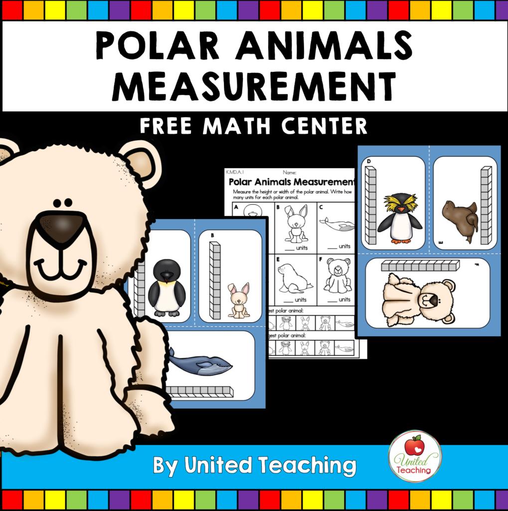 Free Polar Animal Activities United Teaching Free Math Centers Polar Animals Polar Animals Preschool [ 1024 x 1019 Pixel ]
