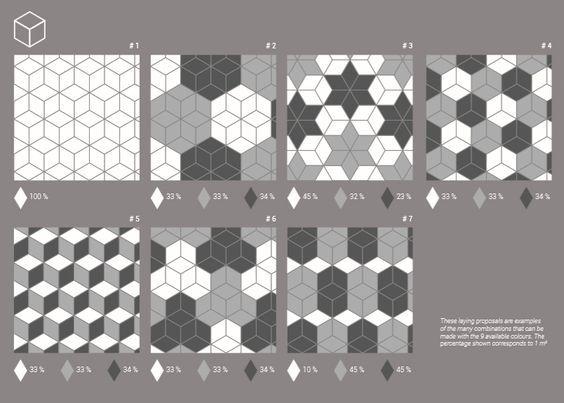 Carrelage cube 3d latest carrelage d duintrieur mural en for Carrelage losange diamant