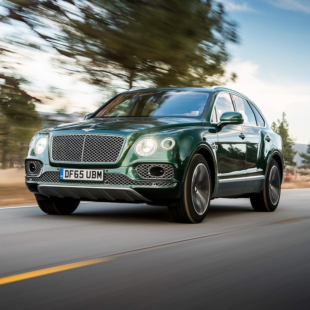 #Bentayga Exterior Paint Colour: Verdant Interior: Saddle