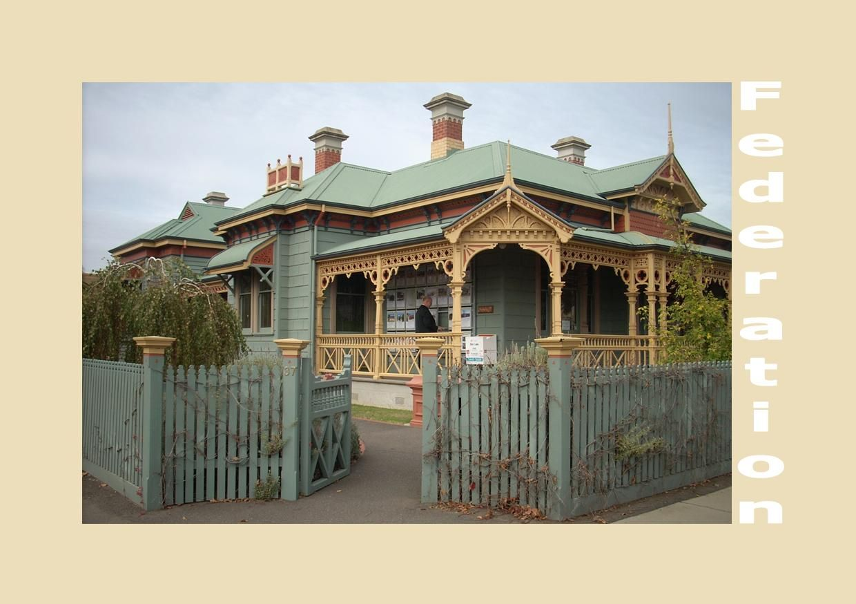 Traditional australia federation exterior inspirations paint - A Very Elaborate Federation Home Absolutely Gorgeous
