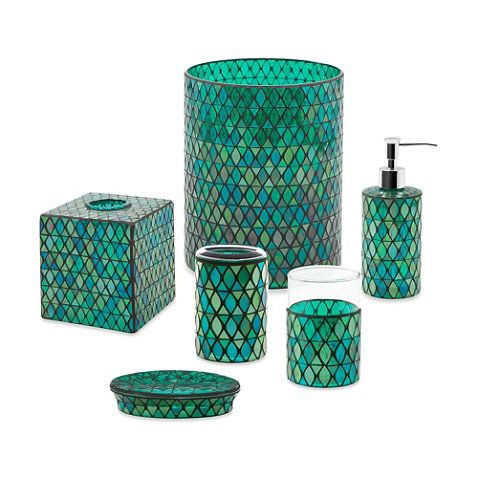 Emerald Bathroom Accessories Green Bathroom Accessories