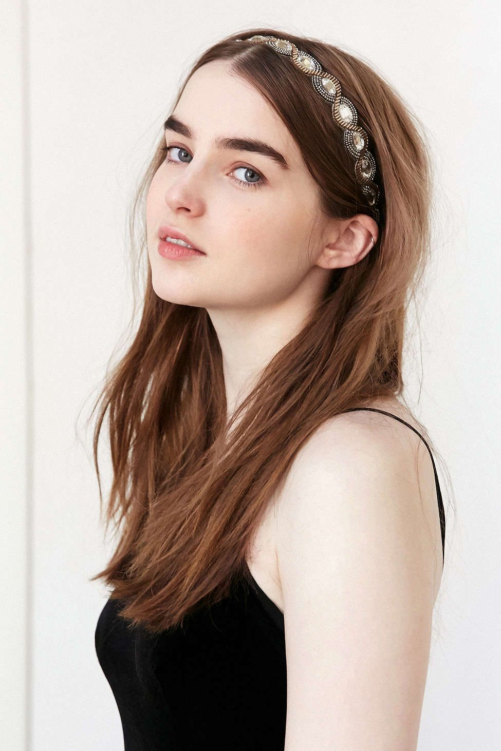 Crystal Braid Headband Braided headband, Hair, Crystal