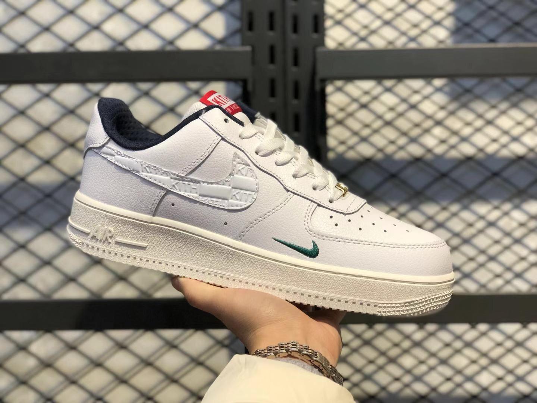 Nike x KITH Air Force 1 Low White University Red Metallic