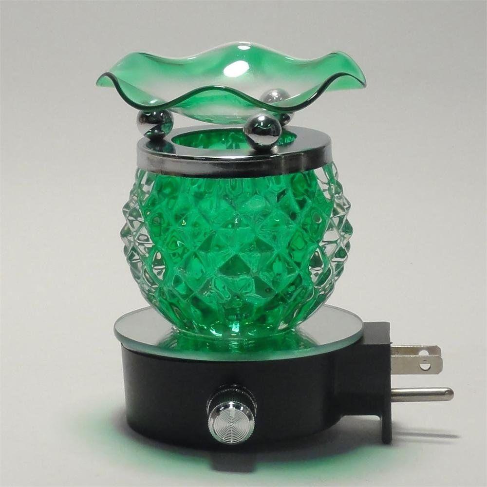 Electric oil warmer burner tart diffuser aroma fragrance