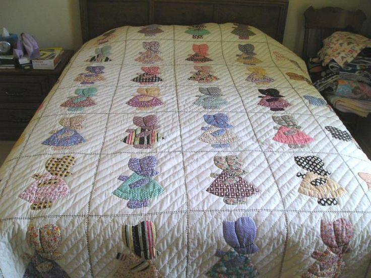 Sun Bonnet Sue Quilt Patterns Free Thread Look Mom No Hands Sunbonnet Sue E 2019 Sun Bonnet Sue Quilt Patterns Free Vintage Quilts Patterns Sunbonnet Sue