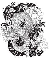 Photo of Dragon Tattoos Ideen für Männer – Dragon Tattoo Designs für Jungs #dragon_tattoo_m …