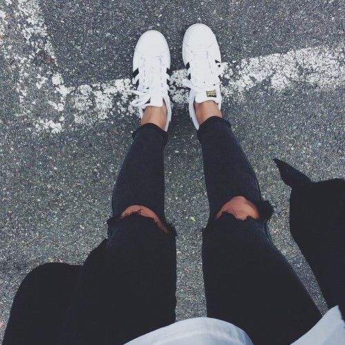 Image via We Heart It #adidas #superstar | Antrekk, Klær