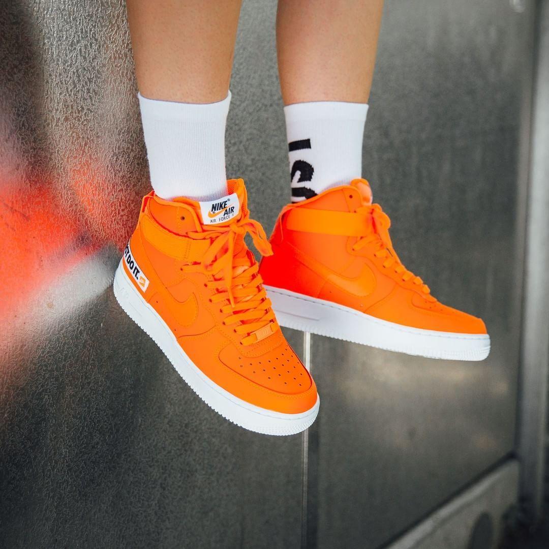 calina Cíclope Novio  ust Do It❗️ Nike W Air Force 1 Hi LX Leather