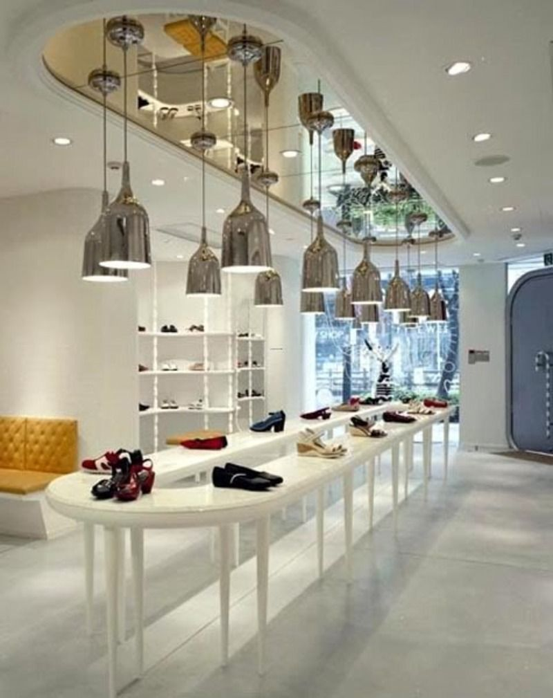 Store Layout/movement     UGLY Stands And Ceiling Decor Though. | Replenish  | Pinterest | Store Interior Design, Store Interiors And Retail