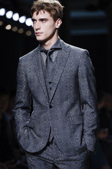 Bottega Veneta Fall 2013 Menswear #textile