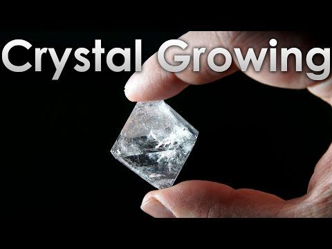 How to grow transparent beautiful crystals of alum salt do it how to grow transparent beautiful crystals of alum salt do it yourself youtube solutioingenieria Choice Image