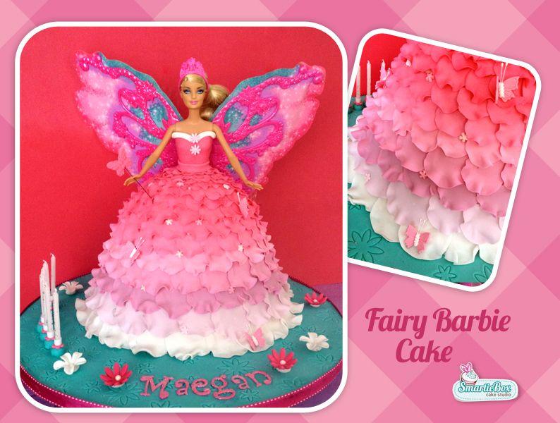 Fairy Barbie Princess Cake SmartieBox Cakes Pinterest ...