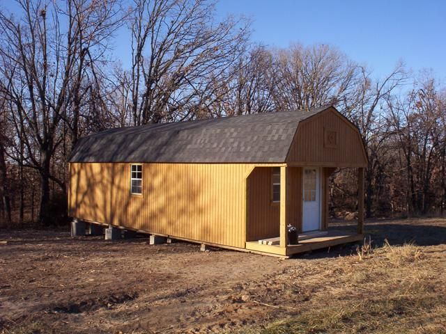 Portable Building Converted Into Tiny House Tiny House Tiny