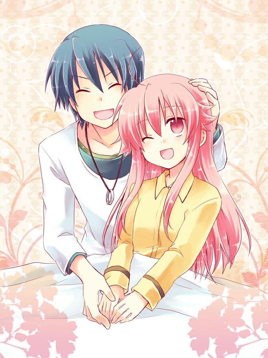 Photo of Anime: Angel Beats! Characters: Hinata & Yui ??-Shio Mizuu-