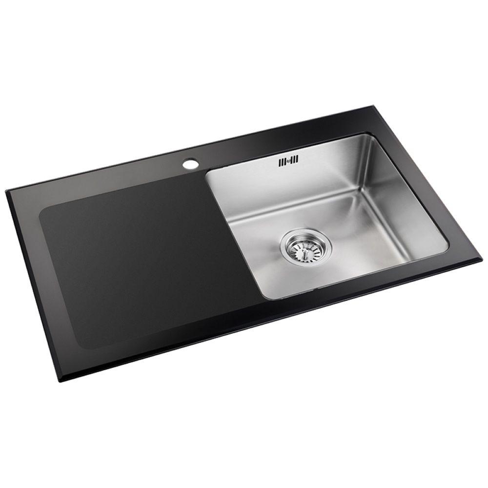 Astini Celso   Bowl Black Glass