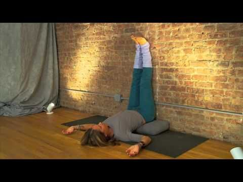 the amazing health benefits of legs up the wall pose