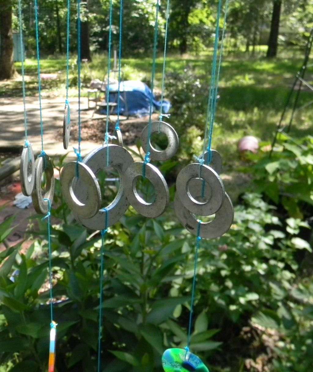 Make a Wind chime with Washers and other Decorative Ideas   Pony ...