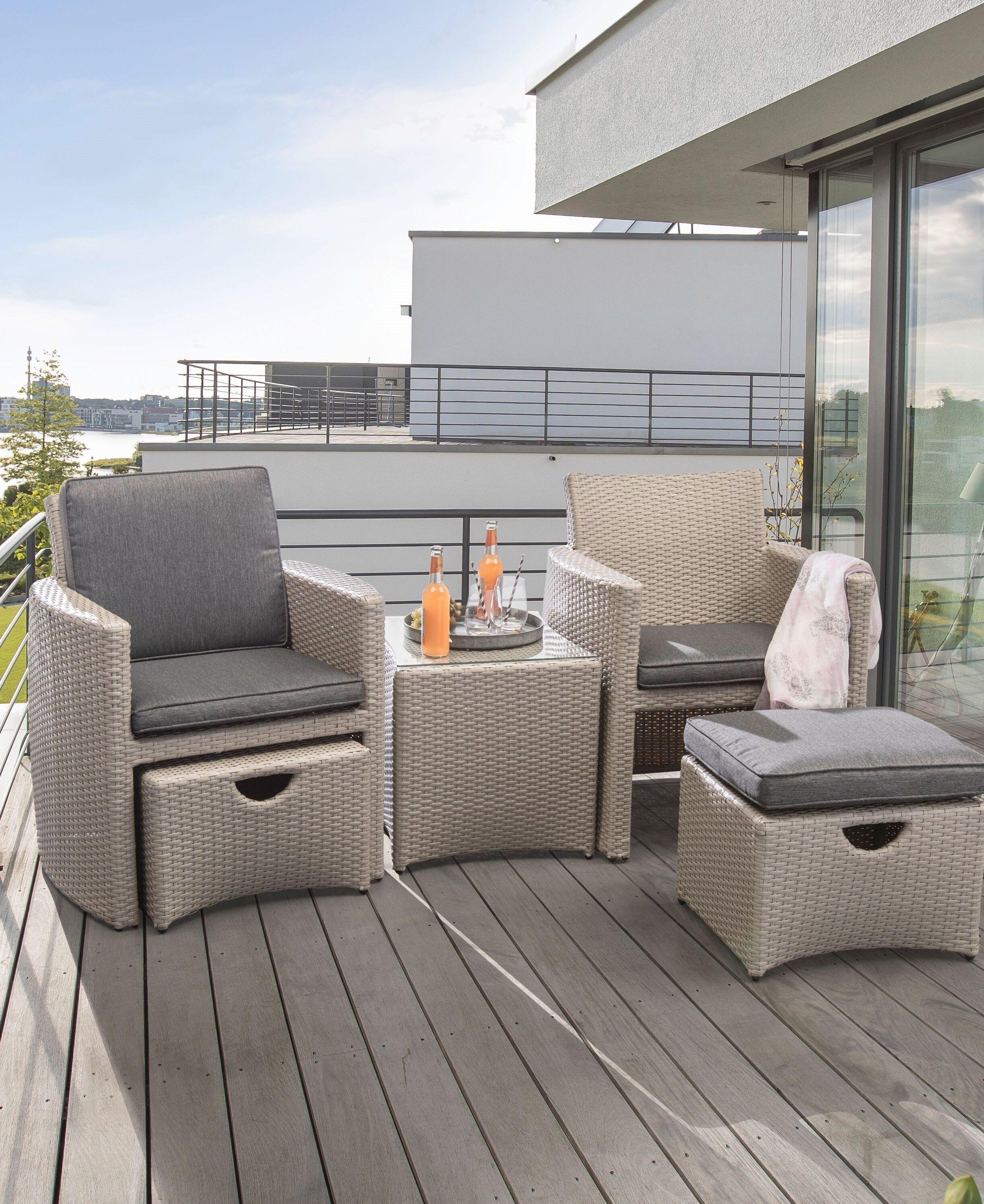 Hochwertige Und Komfortable Balkonmobel Gartenmobel Von Kettler