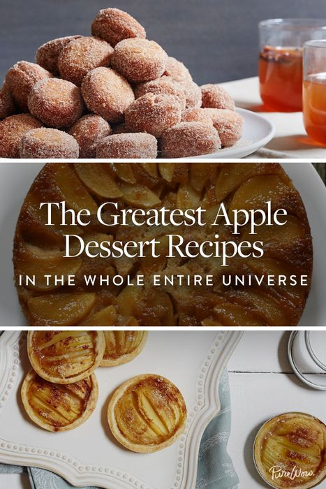 The Greatest Apple Dessert Recipes in the Whole Entire Universe via @PureWow