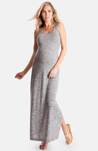 4396911e537 Seraphine+'Magda'+Space+Dye+Knit+Maxi+Maternity+Dress +available+at+#Nordstrom