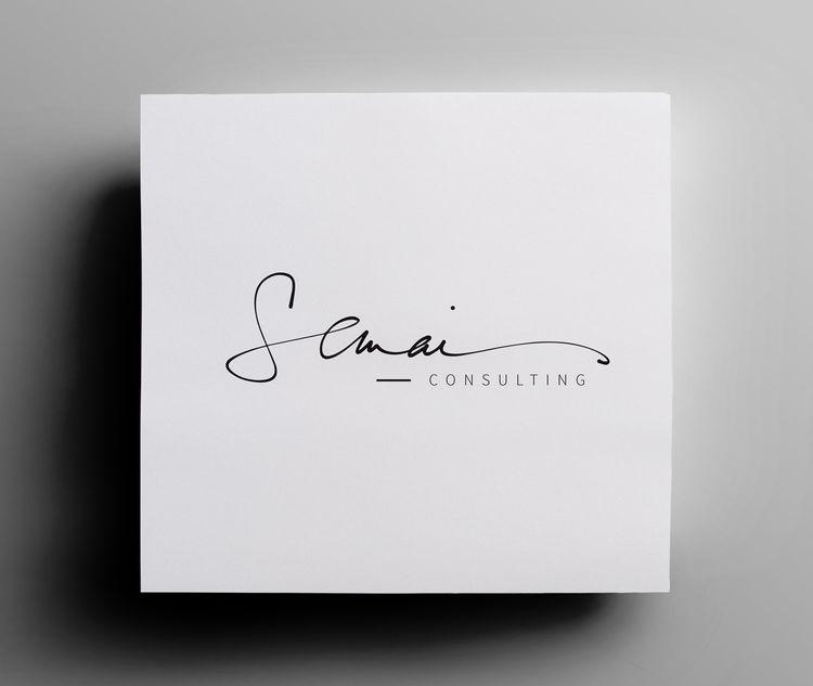 Semai Consulting Handwritten Logo Option   branding.   Pinterest ...