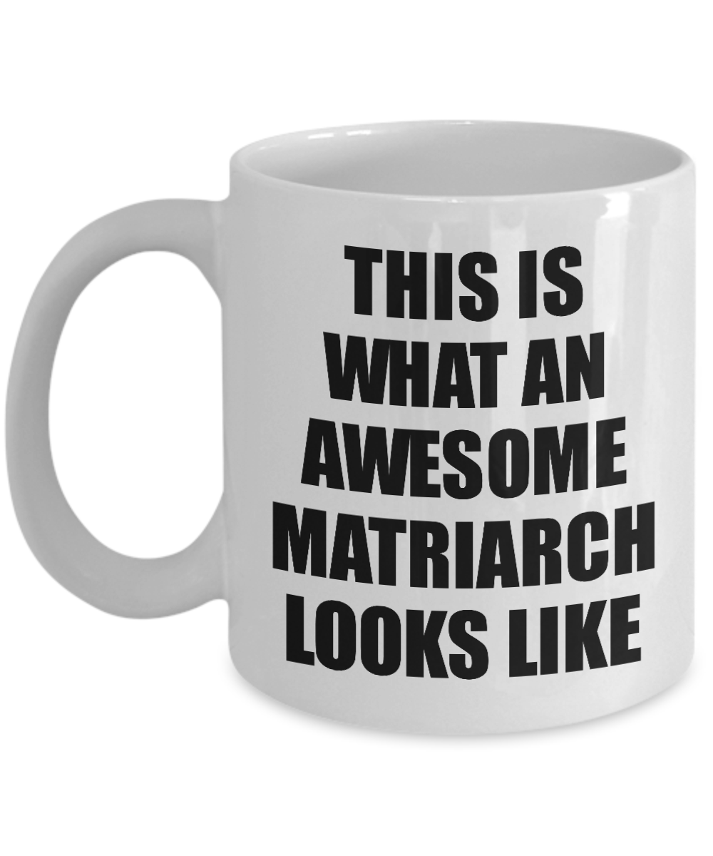 This Awesome Matriarch Mug Funny Gift Idea For My Matron Looks Like Novelty Gag