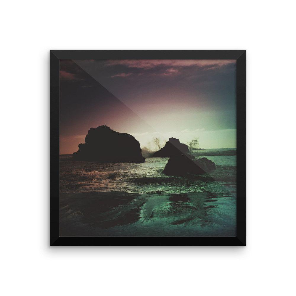 """Oregon Coast Dreams"" framed photo print"