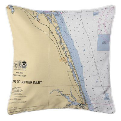 Island Girl Home Jupiter Island, FL Throw Pillow