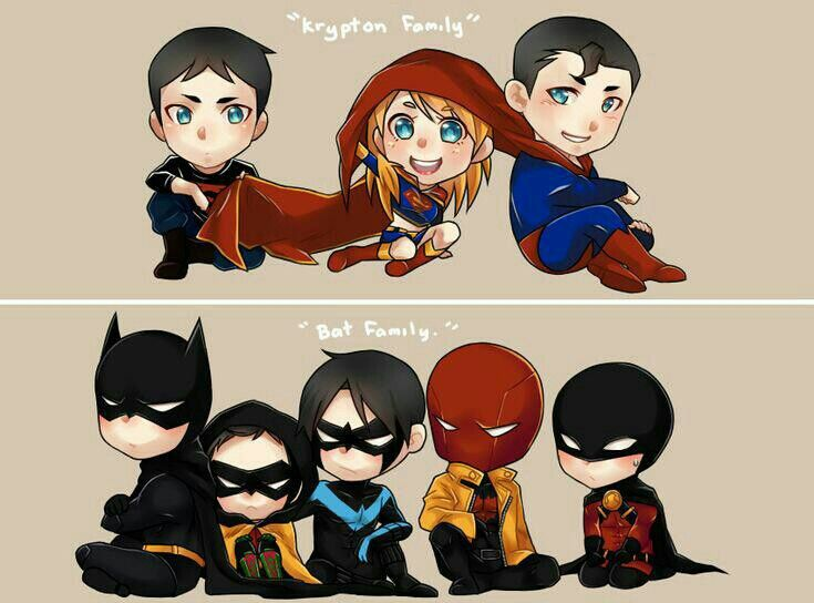 Krypton Family & Bat Family