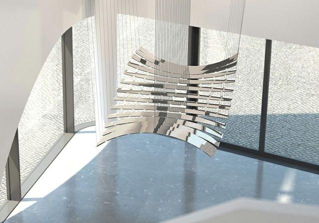 Suspension luminaire OLED nouvelle génération par Selux Suspension