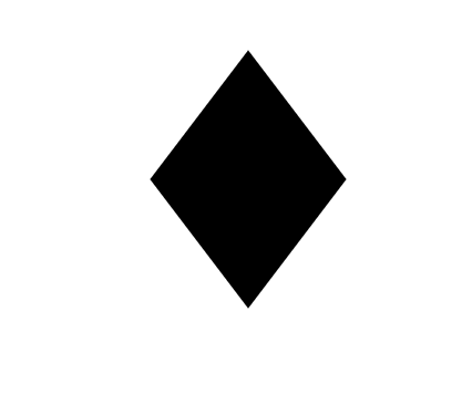 Diamonds Icon In Android Style This Diamonds Icon Has Android Kitkat Style If You Use The Icons For Android App Diamond Shapes Stencil Template Diamond Symbol