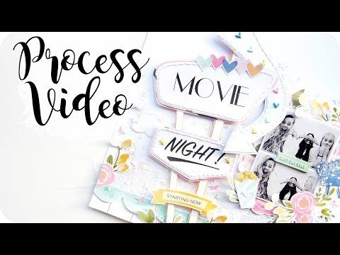 Adventure is out there instruction video Scrapbooking Pinterest