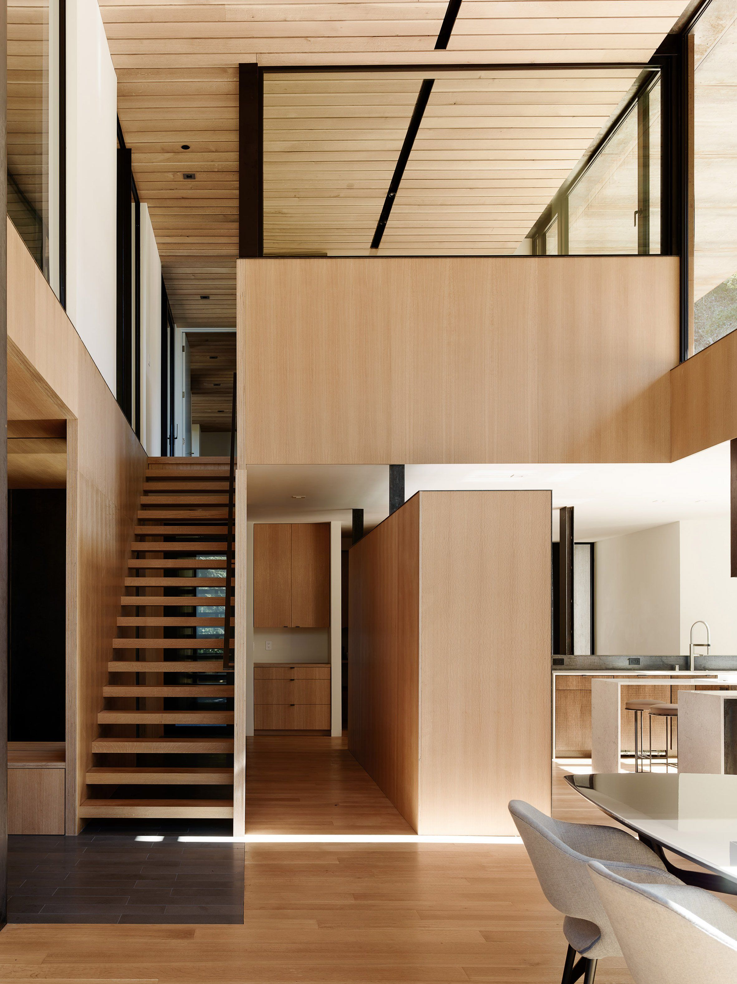 Faulkner Architects wraps Northern California home in weathering ...