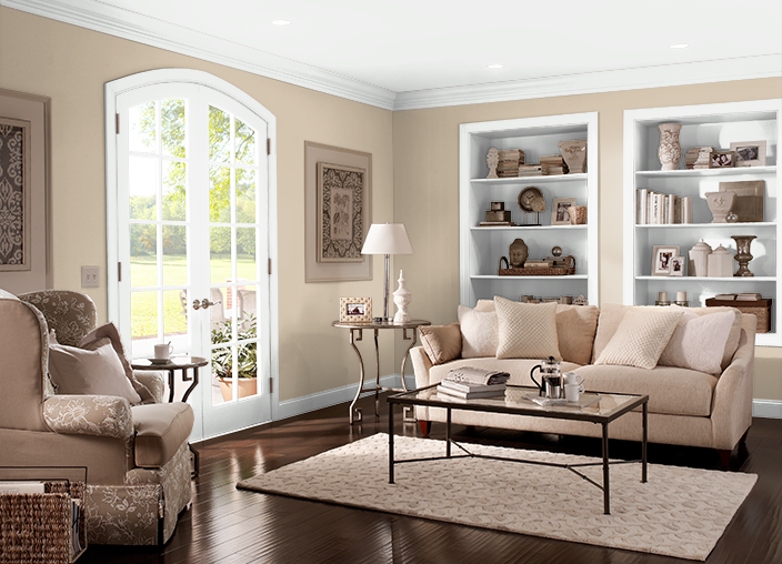 This Is The Project I Created On Behr Com I Used These Colors Gobi Desert 710c 3 Paint Colors For Living Room Living Room Colors Living Room Paint