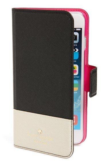 new concept 62f9e 7c7e3 kate spade new york 'cedar street' iPhone 6 Plus folio case ...