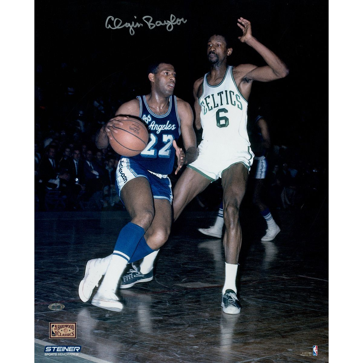Elgin Baylor Lakers Signed OCT 24 1966 Sports Illustrated
