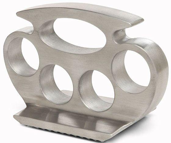Knuckle Pounder Meat Tenderizer Kitchen Grill Brass Knuckles