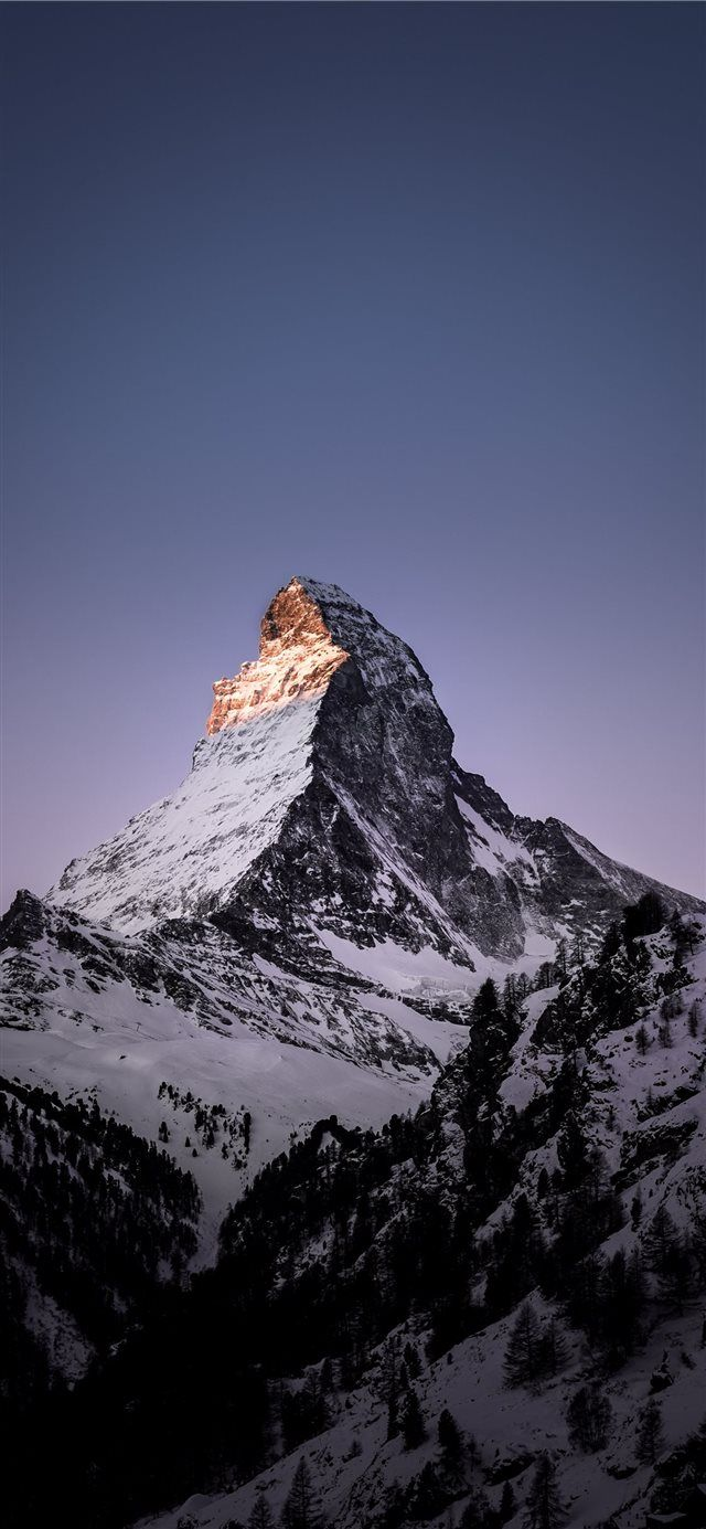 Matterhorn Zermatt Switzerland iPhone X Wallpapers