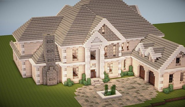 Traditional Mansion By Bullets R Us Minecraft Map