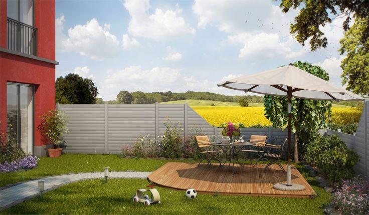 Der Aluzaun Den Haag ist in der Farbe Grau Eisenglimmer. Der Aluminium Sichtschutz ist von der Herstellung schon mit einem Schutz überzogen, der das Leichtmetall gegen Wetter- und Umwelteinflüsse wappnet. Die vier Zaunelemente sind in den Maßen von 1800 x 1813 mm bis 968 x 1800 auf 968 mm verfügbar. Diese und weitere Aluminium Sichtschutzzäune finden Sie unter http://www.meingartenversand.de/sichtschutzzaun/aluminium-sichtschutzzaeune.html