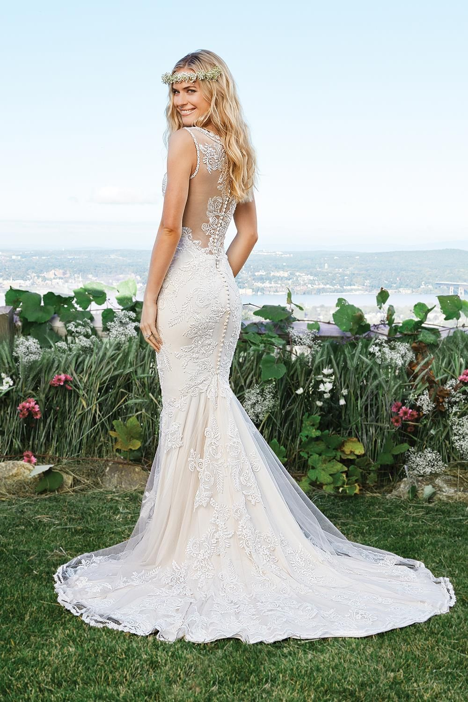 6421 from Lillian West | Bridal: Lillian West | Pinterest