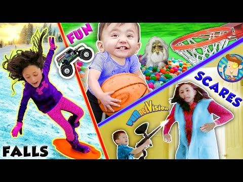 Diy Fluffy Slime Extras Shawn S Mac Cheese Tease Funnel Vision Challenge Doh Much Fun Vlog Youtube Funnel Vision Ball Pit Family Fun