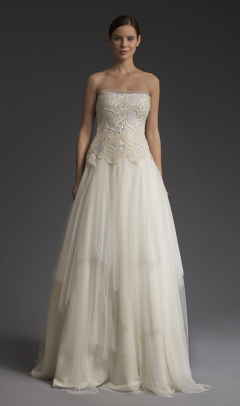 New York Bridal collection from fashion designer Victoria Kyriakides ...
