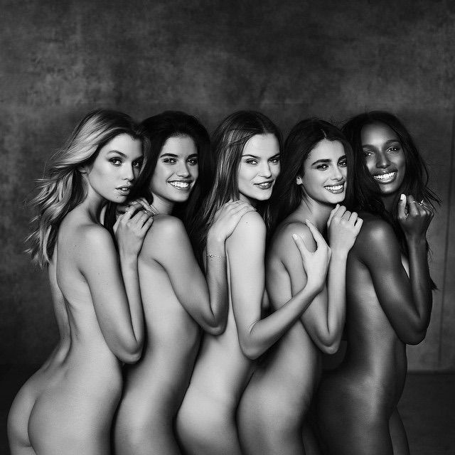 Naked victoria s secret for the