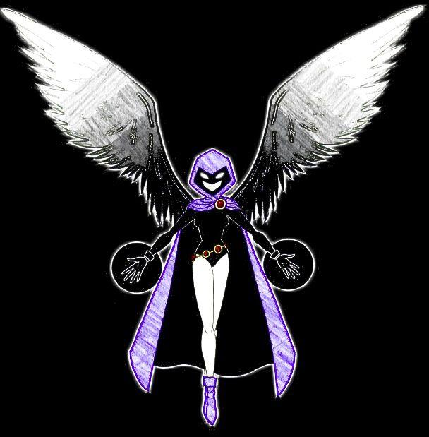 Teen Titans Raven In Color  Teen Titans  Raven Dos Novos Tits -8647